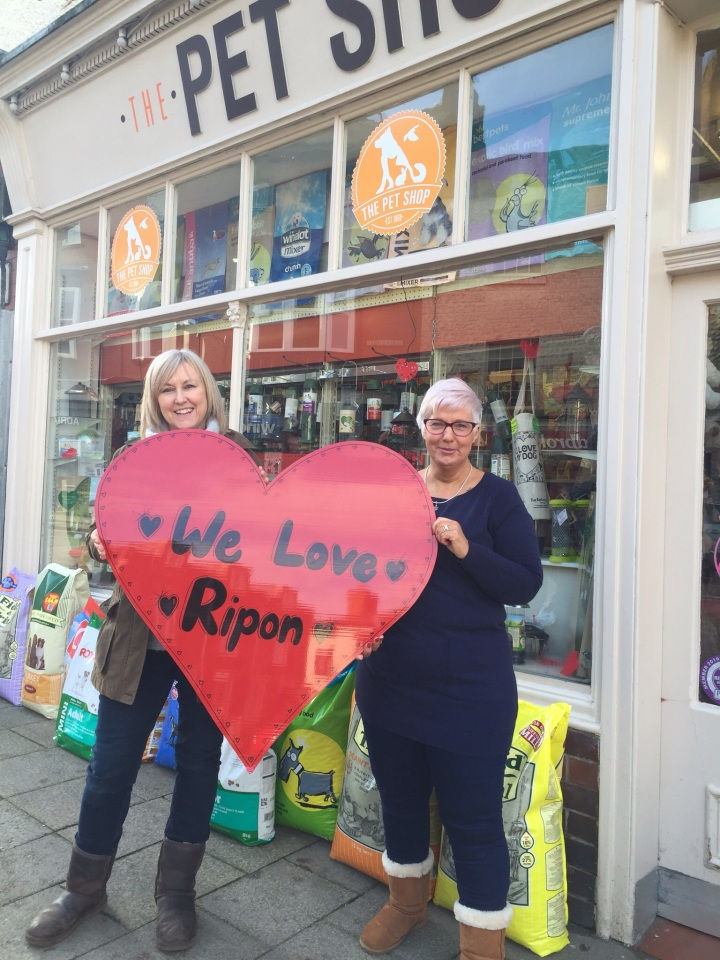 we love ripon, the pet shop ripon