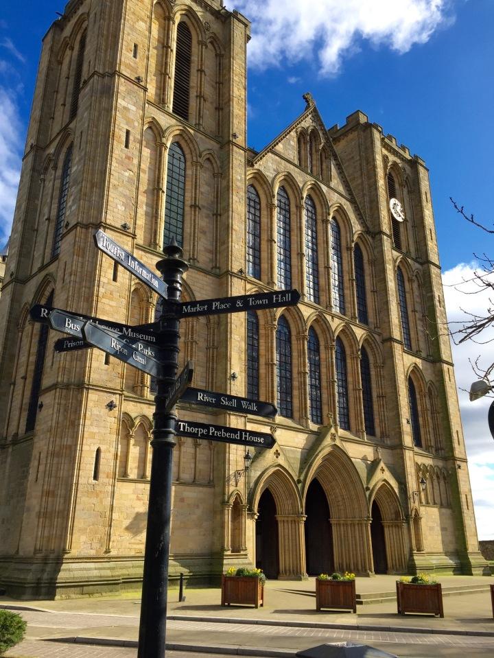 ripon cathedral, ripon north yorkshire